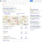 New Google map listings