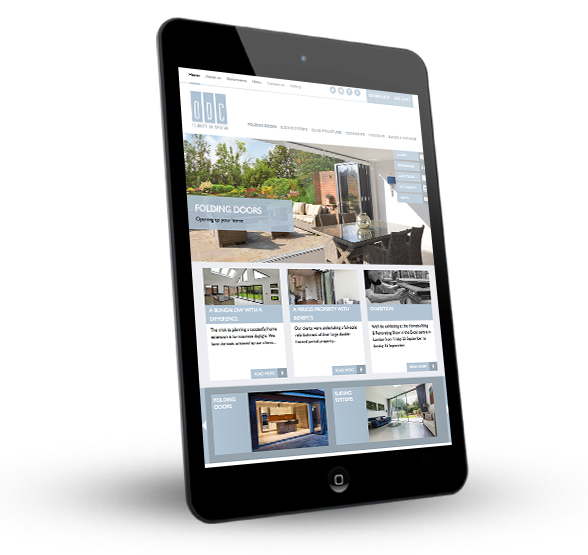 ODC Glass - WordPress Website