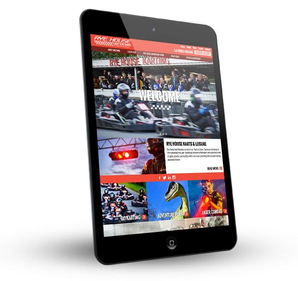 Rye house on a tablet device