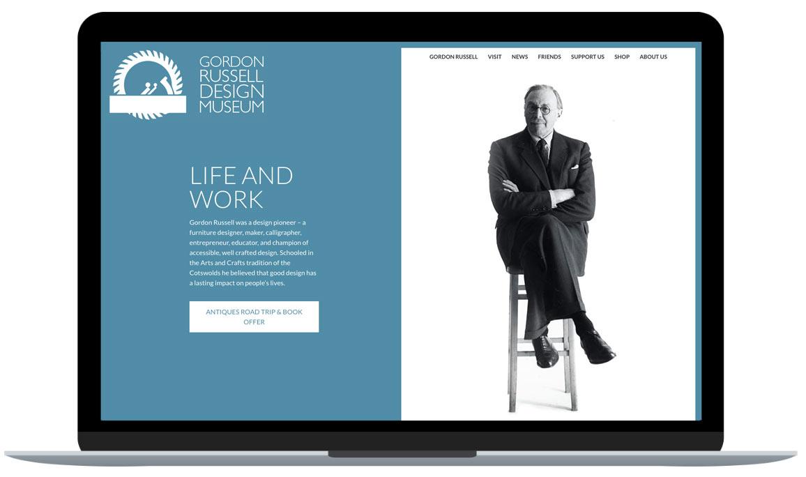 Bespoke Website Design Case Study Museum Website Granite 5