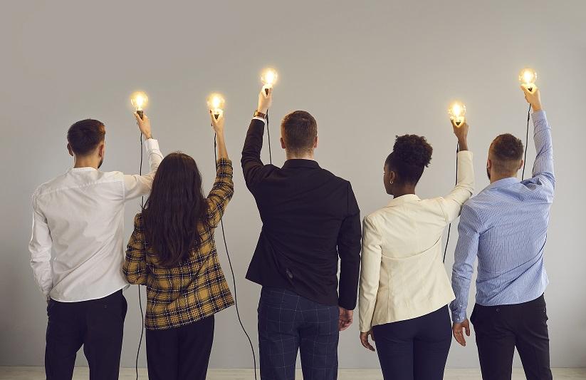 inbound marketing team - full of bright ideas